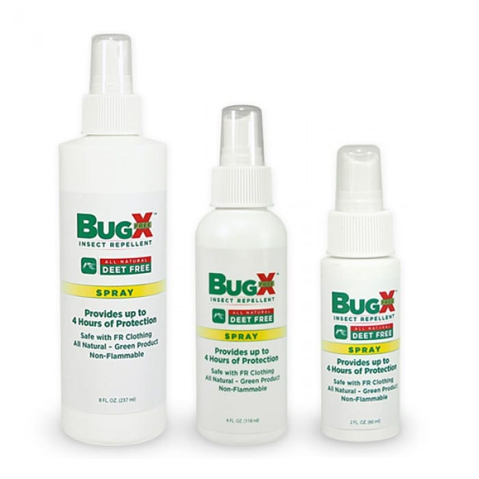 BUG X FREE NATURAL INSECT REPELLENT (DEET FREE)